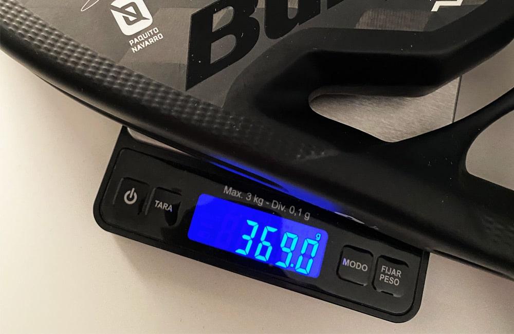 Padel Racket Weight