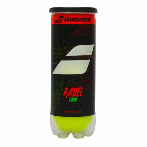Babolat Padel Tour är en snabb padelboll med god komfort. En av de bästa padelbollarna 2021.