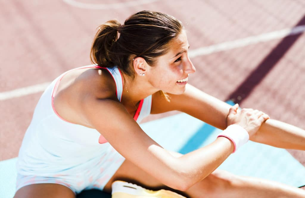Stretching for padel tennis